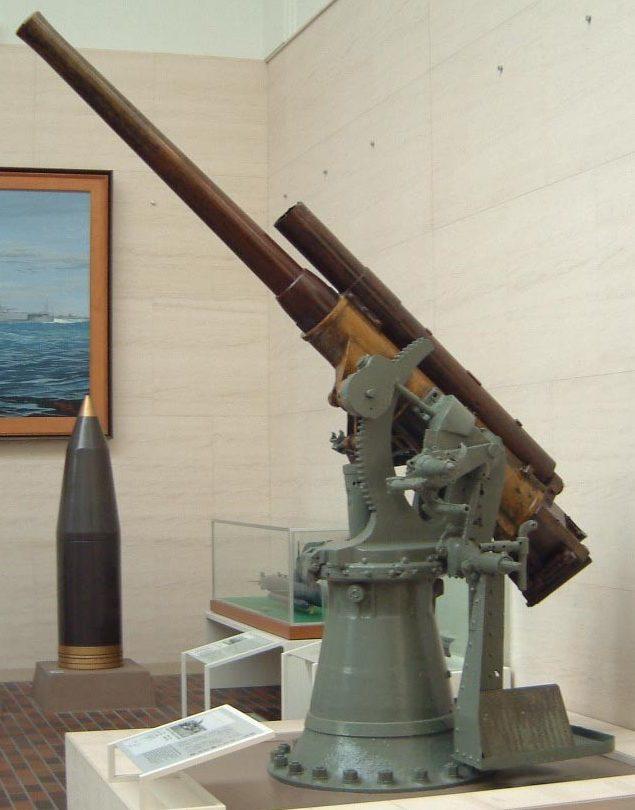 корабельное зенитное орудие Туре 3 80-mm