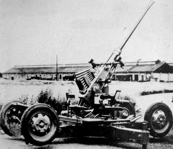 Зенитное орудие 4-cm/60 Type 5