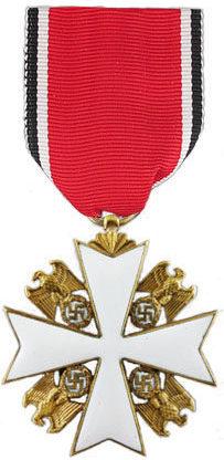 Орден Немецкого Орла 5 класса.