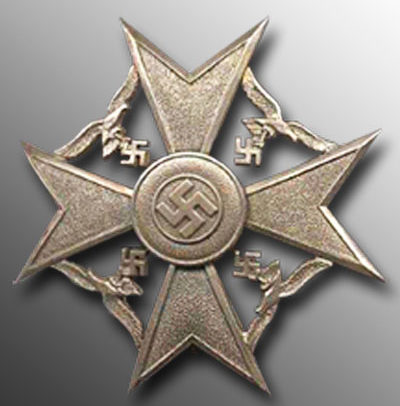 Аверс Серебряного креста.
