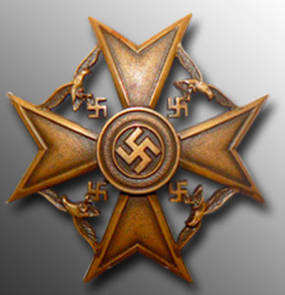 Аверс Бронзового креста