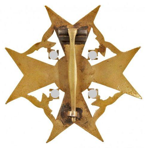 Реверс Бронзового креста