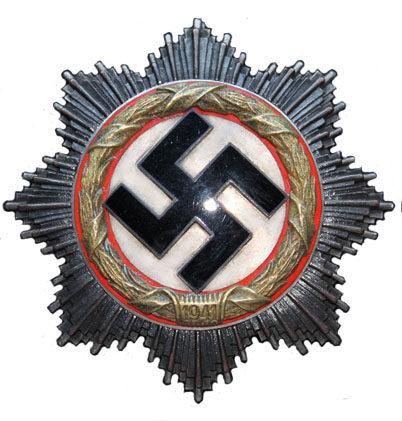 Немецкий крест в золоте. I степень.
