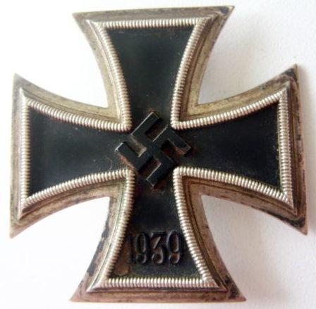 Аверс Железного креста 1-го класса