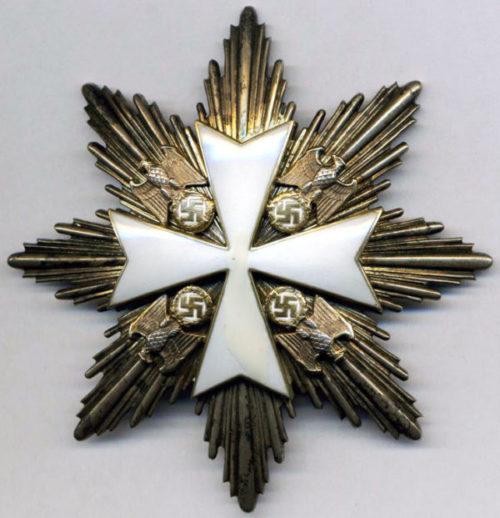 Аверс звезды к Большому Кресту Ордена немецкого Орла