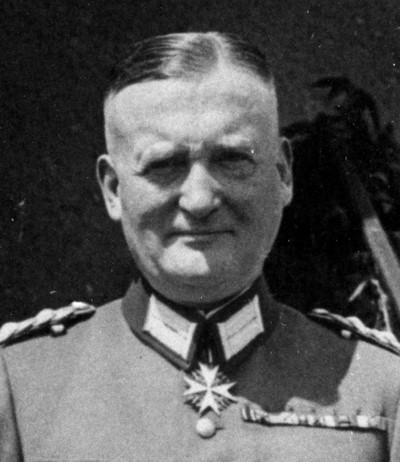 Хаммерштейн-Экворд Курт барон фон (Kurt von Hammerstein-Equord) (26.11.1878 – 25.04.1943)