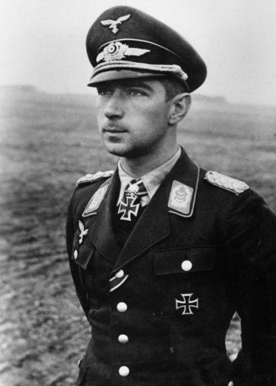 Мёльдерс Вернер (Werner Mölders) (18.03.1913 – 22.11.1941)