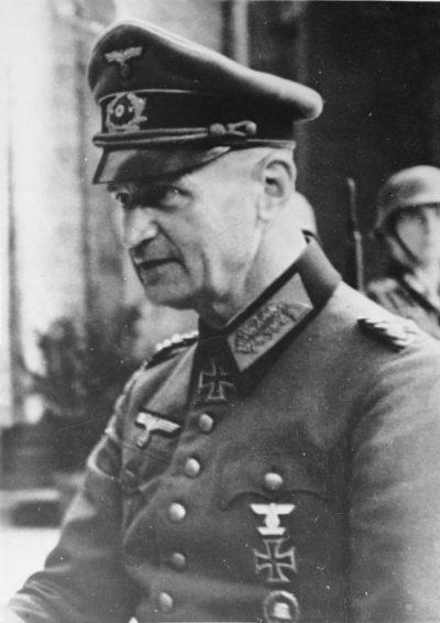 Бласковиц Йоханнес Альбрехт (Johannes Albrecht Blaskowitz) (10.07.1883 - 05.02.1948)