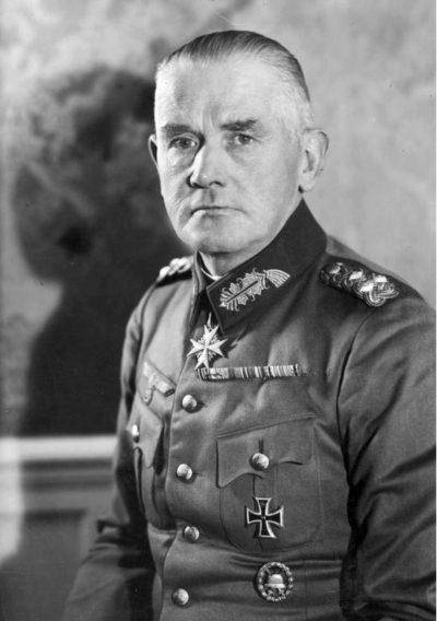 Бломберг Вернер (Werner Eduard Fritz von Blomberg) (02.09.1878 – 14.03.1946)
