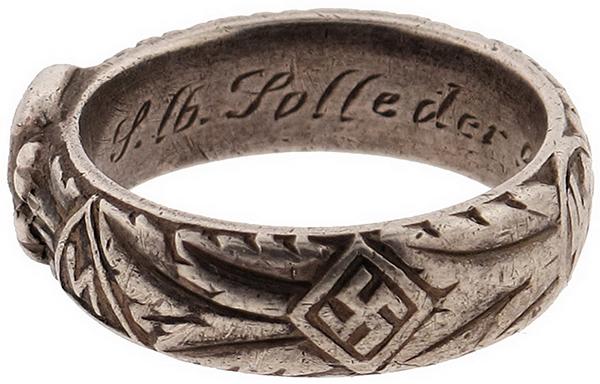 Надписи внутри кольца Мертвая голова