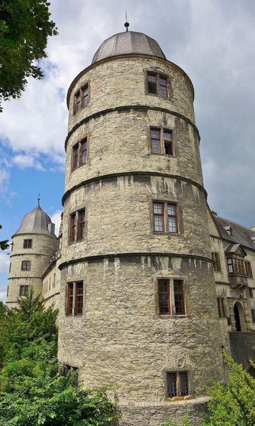 Башни замка Вевельсбург