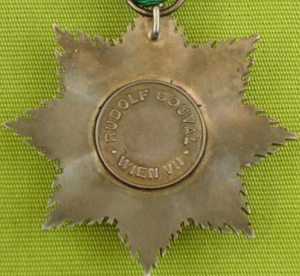 Реверс звезды 2-го класса «Полководец» на ленте.
