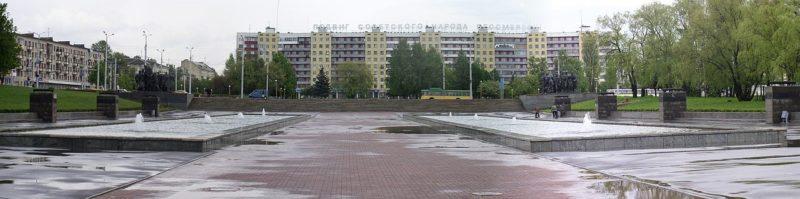 г. Витебск. Площадь Победы