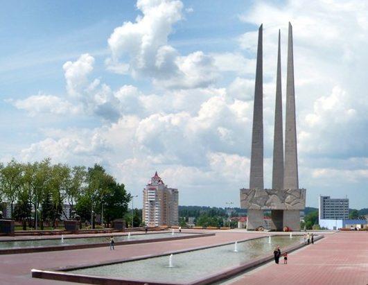 г. Витебск. Мемориальный комплекс на площади Победы