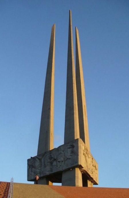 г. Витебск. Главный монумент мемориального комплекса