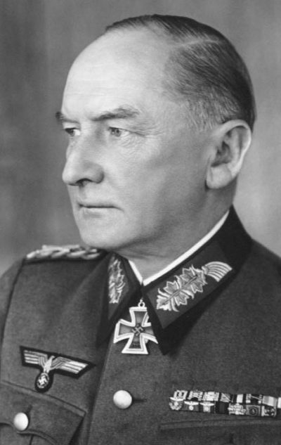 Вицлебен Иоб-Вильгельм Георг «Эрвин» фон ( Job-Wilhelm Georg «Erwin» von Witzleben) (04.12.1881 -08.08.1944)