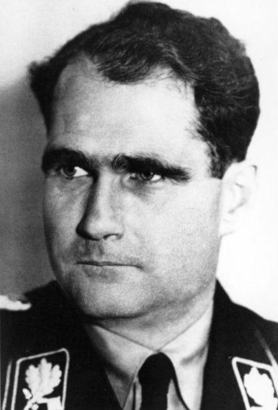 Гесс Рудольф Вернер Рихард (Rudolf Walter Richard Hess) (26.04.1894 - 17.08.1987)