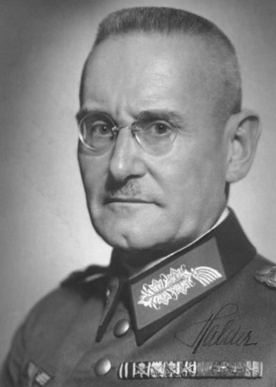 Гальдер Франц (Franz Halder) (30.06.1884 - 02.04.1972)