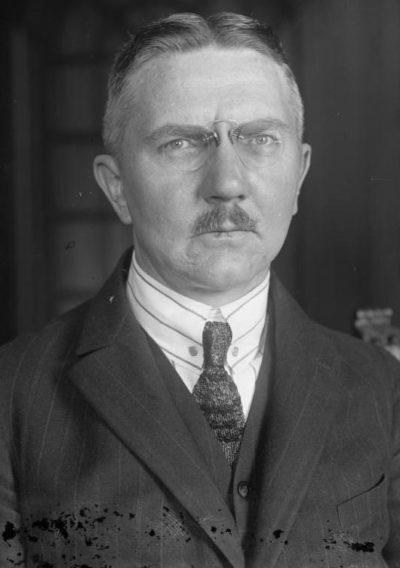 Шахт Ялмар (Hjalmar Horace Greeley Schacht) (22.11.1877 - 03.06.1970)