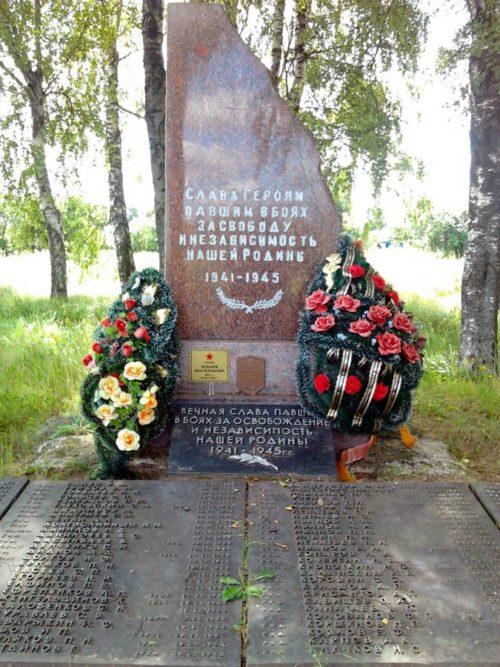 д. Бальшая Любица Витебского р-на. Братская могила.