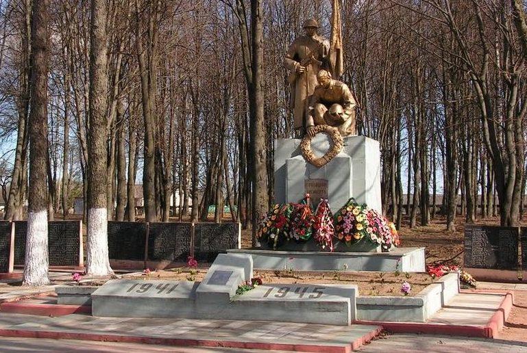 д. Вороны Витебского р-на. Братская могила