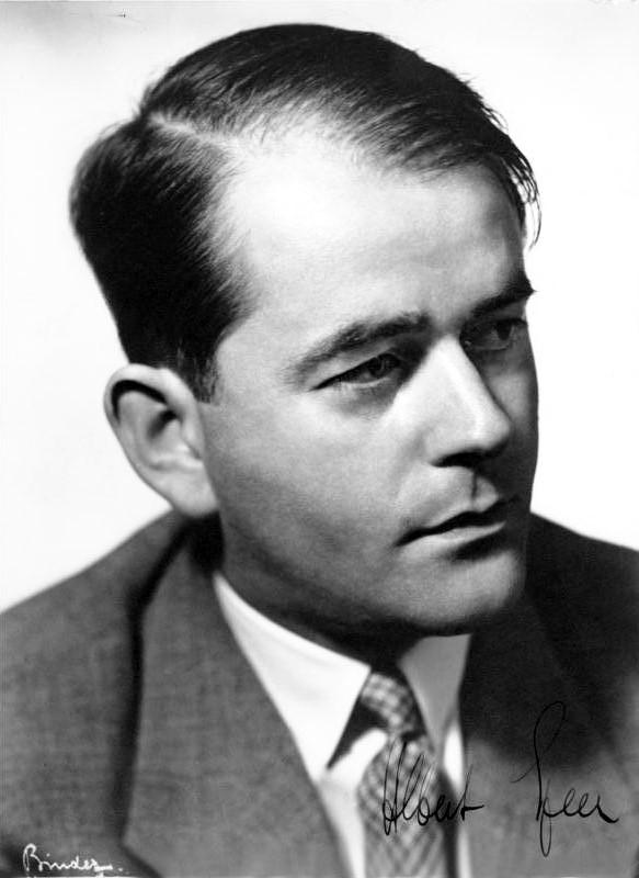 Шпеер Альберт (Albert Speer) (19.03.1905 - 01.09.1981)
