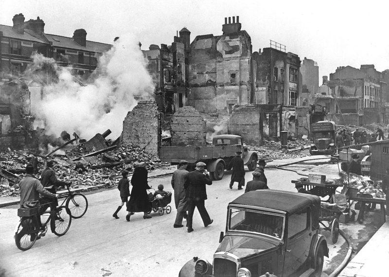 Улица Лондона. 1941 г.