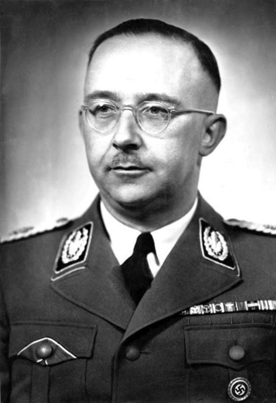 Гиммлер Генрих Луйтпольд (Heinrich Luitpold Himmler) (07.10.1900 - 26.05.1945)