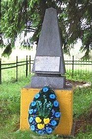 д. Островно Бешенковичского р-на. Памятник жертвам гетто.