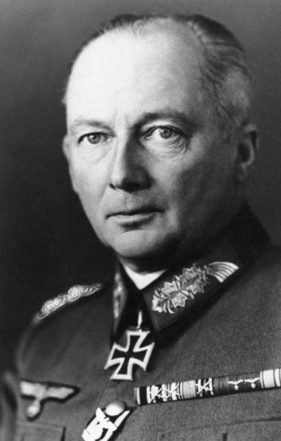 Клюге Ганс Гюнтер фон (Günther von Kluge) (30.10.1882 - 18.08.1944)