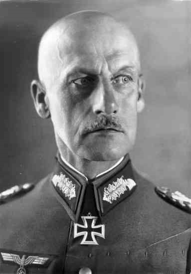 Лееб Вильгельм Йозеф Франц Риттер фон (Wilhelm Josef Franz Ritter von Leeb) (05.09.1876 – 29.04.1956)