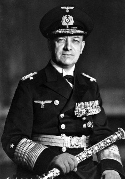 Редер Эрих Йоханн Альберт (Erich Johann Albert Raeder) (24.04.1876 - 06.11.1960)