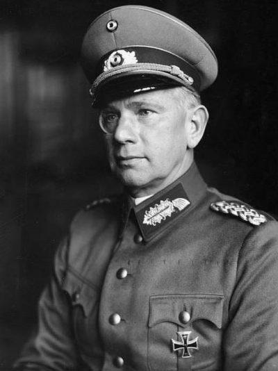 Рейхенау Вальтер фон (Walter von Reichenau) (16.08.1884 - 17.01.1942)