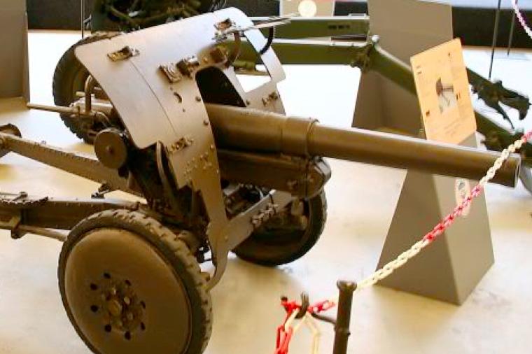 Противотанковая пушка Canon de 47-mm antichar S.A. FRC
