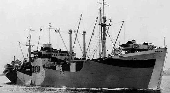 Десантный транспорт «Fomalhaut» (AKA-5)