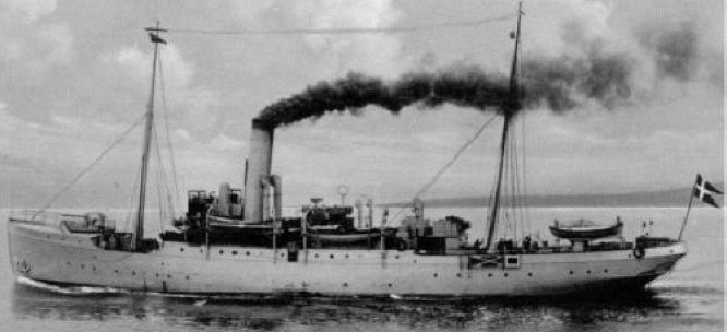 Патрульный корабль «Islands Falk»