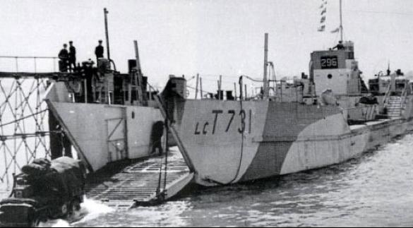 Танкодесантный корабль «LCT-731»