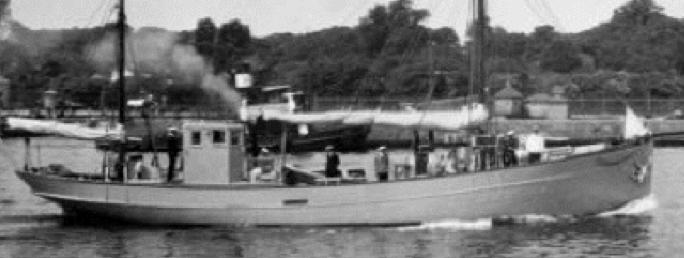 Патрульный корабль «Maagen»
