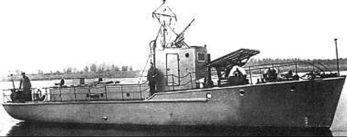 Минометный катер типа «Я-5»