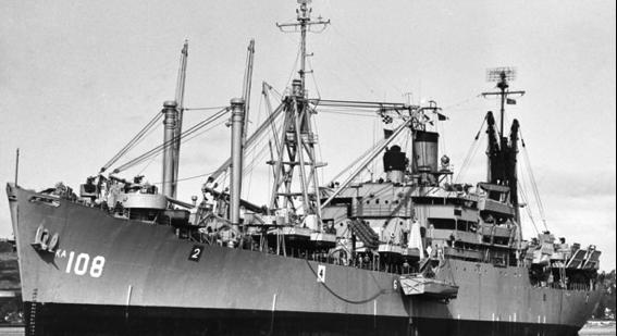Десантный транспорт «Washburn» (АKA-108)