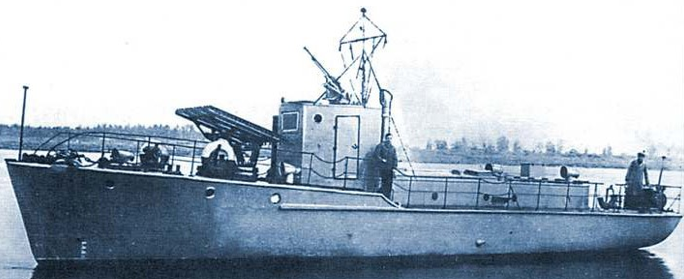 Минометный катер типа «Я-6»