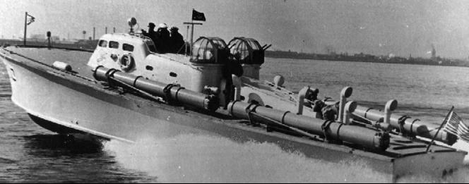 Торпедный катер «PT-10»