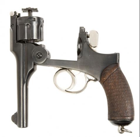 Револьвер Туре 26 с открытой рамой