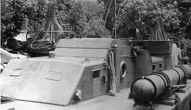 Торпедный катер «РТ-121»