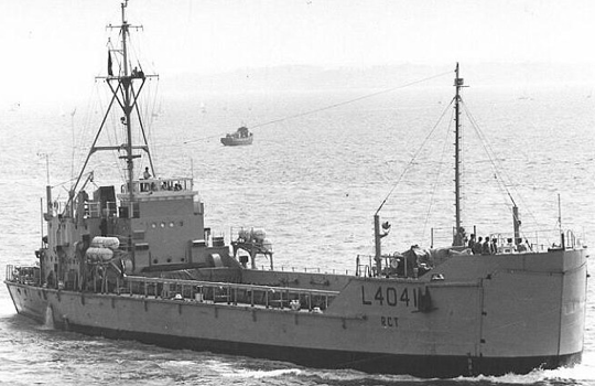 Танкодесантный корабль типа «LCT(8)»