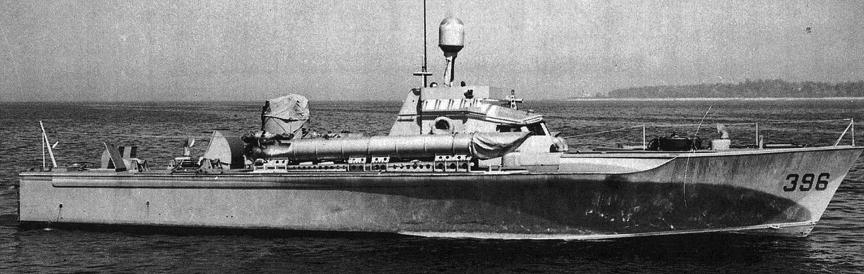 Торпедный катер «РТ-396»