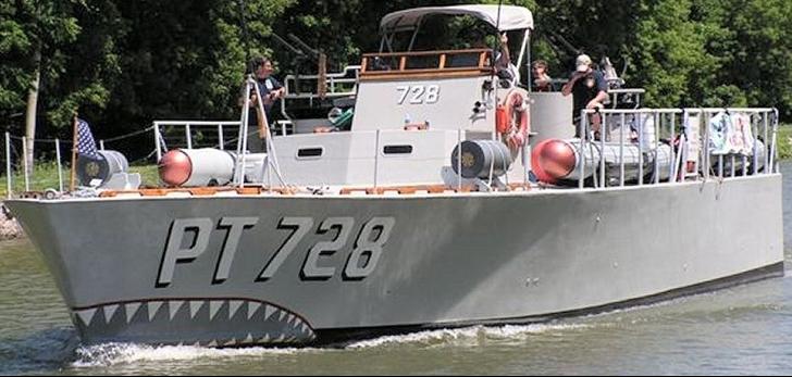 Торпедный катер «РТ-728»