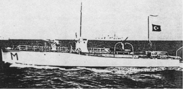 Торпедный катер «Martı»