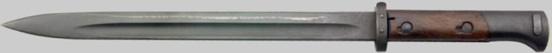 Штык-нож обр. 1924 г. к винтовке VZ–24