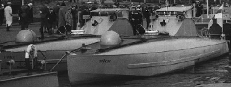 Торпедные катера типа «Syöksy»
